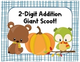 2-Digit Addition GIANT Scoot Task Cards