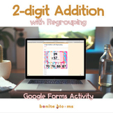 2-Digit Addition Google Classroom Activity Distance Learning