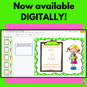 2 Digit Addition - Master it with Ease!  Carrying/Regrouping Included! Grade 2-3