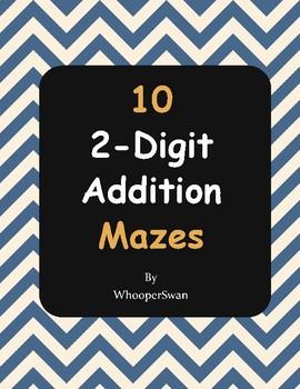 2-Digit Addition Maze