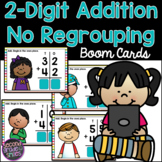 2-Digit Addition No Regrouping Boom Cards