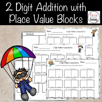 2 Digit Addition- Place value