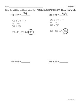 2-Digit Addition Practice (No Regrouping)