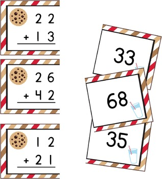 2 Digit Addition Puzzles (no regrouping)