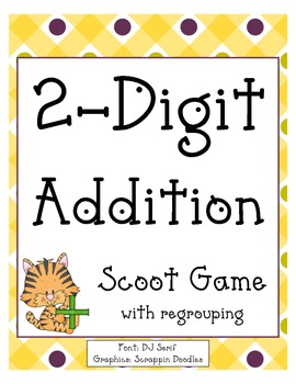 2 Digit Addition Scoot