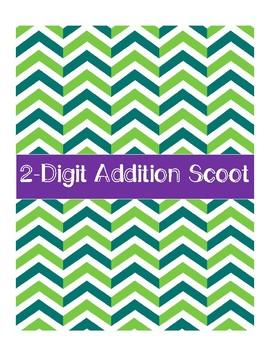 2-Digit Addition Scoot #APRILFOOLS