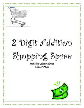 2 Digit Addition Shopping Game