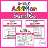 2 Digit Addition With Regrouping BUNDLE   1st Grade Math