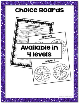 2-Digit Addition & Subtraction Place Value Strategies-Games, Assessments & More