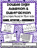 2-Digit Addition & Subtraction Place Value Strategies-Game