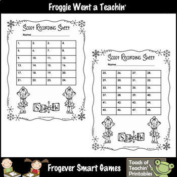 """2-Digit Addition & Subtraction Without Regrouping -- """"Snow"""""""