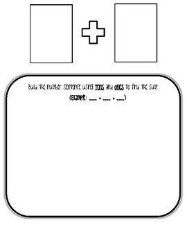 2-Digit Addition WITHOUT REGROUPING Place Value Mat