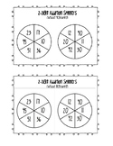 2-Digit Addition WITHOUT REGROUPING Spinners