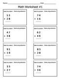 2 Digit Addition With Regrouping Math Worksheets / Check With Inverse Operation