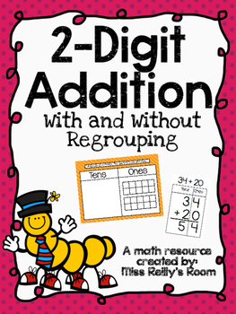 2-Digit Addition - With and Without Regrouping