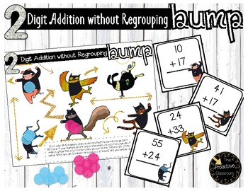 2 Digit Addition Without Regrouping Ninja Bump