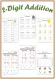2-Digit Addition Worksheets