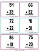 2-Digit Addition Worksheets and Task Cards without Regrouping