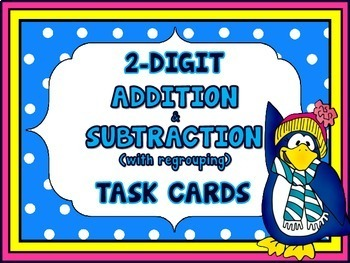 Addition and Subtraction 2-Digit Numbers