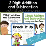 2 Digit Addition and Subtraction Bundle