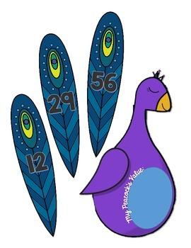 3.NBT.A.2 - 2-Digit Addition and Subtraction Design a Peacock Math Center