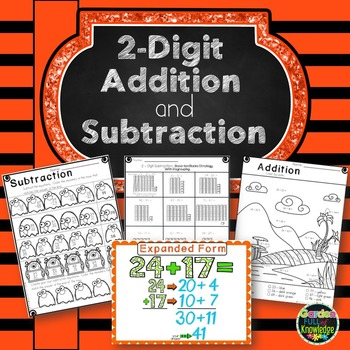 Math 2-Digit Addition and Subtraction Strategies and Posters