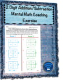 2 Digit Addition and Subtraction Mental Math Coaching Exercise