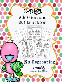 2-Digit Addition and Subtraction No Regrouping