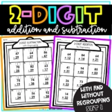 2 Digit Addition with Regrouping Distance Learning