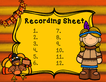 2 Digit Addition and Subtraction Thanksgiving Autumn Task Cards FREE