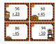 2 Digit Addition and Subtraction Thanksgiving Autumn Task