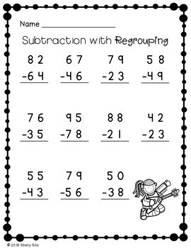2-Digit Addition and Subtraction with Regrouping