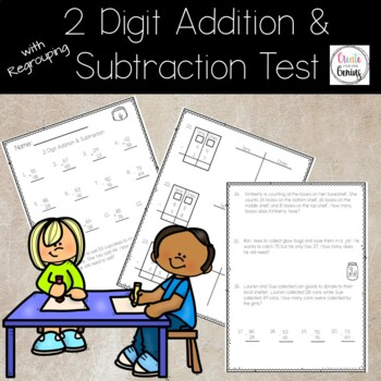 2 Digit Addition and Subtraction with regrouping