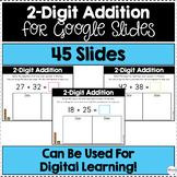 2-Digit Addition for Google Slides (Differentiated) | Dist