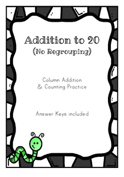 2 Digit Addition to 20 (No Regrouping)