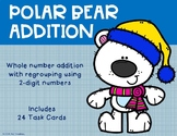 2 Digit Addition with Regrouping {Polar Bear}