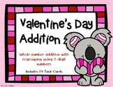 2 Digit Addition with Regrouping {Valentine's Day Theme}