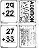 2 Digit Addition with Regrouping War Game