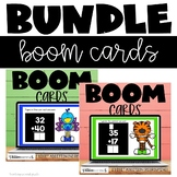 2 Digit Addition with and without Regrouping Boom Cards Di