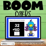 2 Digit Addition without Regrouping Boom Cards Distance Learning