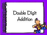 2 Digit Addition (without regrouping) Interactive Powerpoint