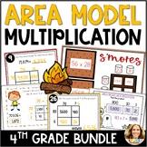 2 Digit Area Model Multiplication Bundle