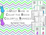 2-Digit Base Ten Count the Room Easter