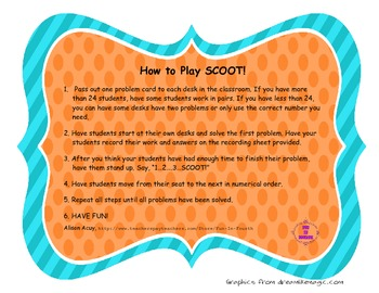 2-Digit By 2-Digit Multiplication SCOOT!