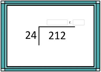 2 Digit Division With Remainders Printable and Digital Task Cards BUNDLE