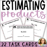 Estimating Products   2-Digit Multiplication Printable and