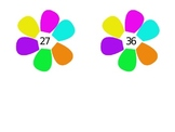 2 Digit Flower Addition (no regrouping)