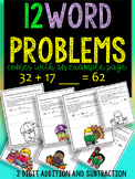 SUMMER WORD PROBLEMS  2-Digit MATH