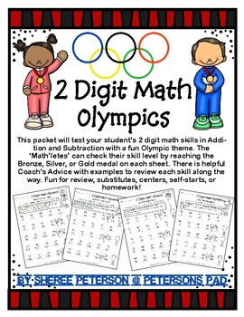 2 Digit Math Olympics
