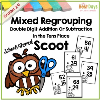 Mixed Regrouping 2 digit Addition and Subtraction Scoot Ma